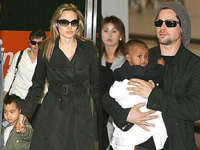 Джоли и питт продали фотографии своих